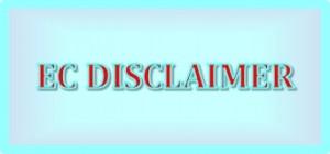 EC Disclaimer