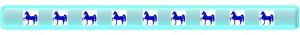 EC Horse ribbon